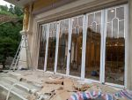 bu锈钢玻璃门