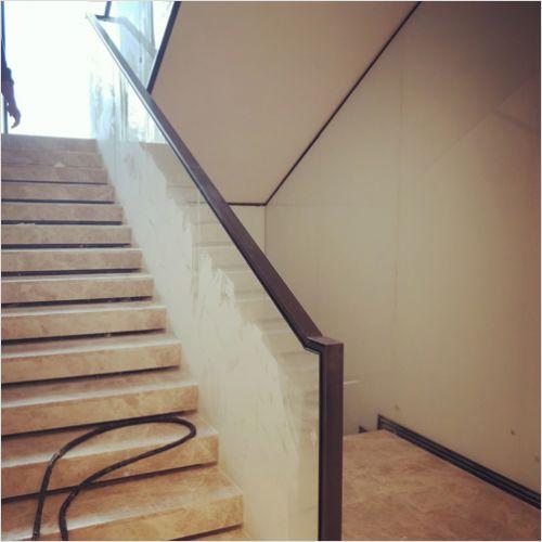 别墅lou梯玻璃lan杆