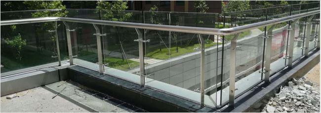 高xin工业园bo璃栏杆